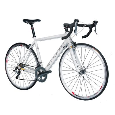 RACING BICYCLE  SHIMANO-TIAGRA 2x10-FRAME CARBON