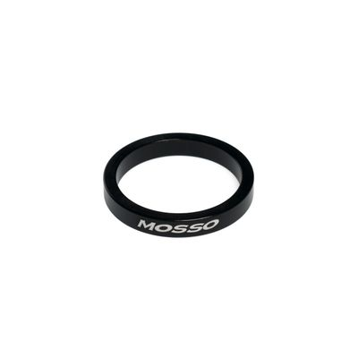 "DISTANCES SPACER FOR HEAD SET MOSSO 1 1/8""  - 5 mm Col.Black - size: 29x35x5 mm"