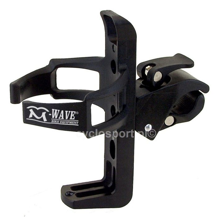PLASTIC BOTTLE CAGE  MOUNTED ON HANDLEBAR  OR SEAT