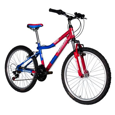 "BICYCLE SPIDER-MAN MTB 24""-3x6 UNISEX - Frame Size: 15"""