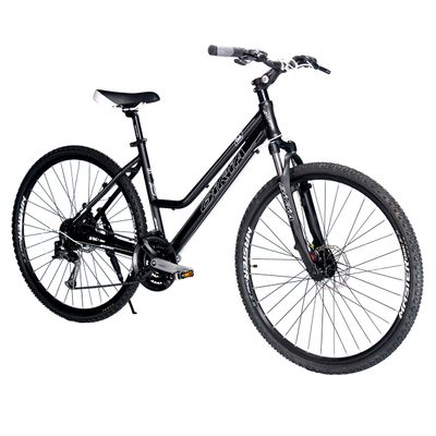 BICYCLE   BIRIA CROSS LADIES - TX/ ALIVIO 3x8 MECHANICAL DISC BRAKE  Matt BLack
