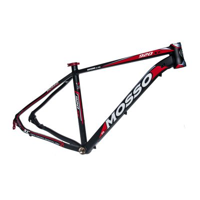 "FRAME    MTB-29"" MOSSO MOD.920XC 19"" (48cm)  Matt Black / Matt Red colour"