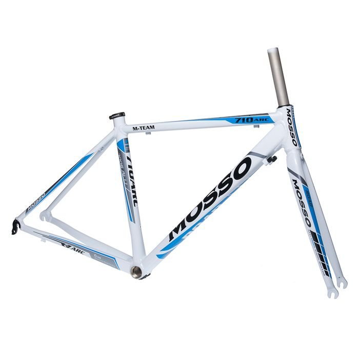 FRAME ROAD MOSSO 710ARC with Aluminum Fork Rozmiar:460mm  White / Gray / Blue Line
