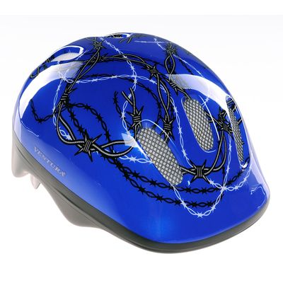 "CHILDREN""S BICYCLE HELMET  VENTURA - ""BARBED WIRE"""