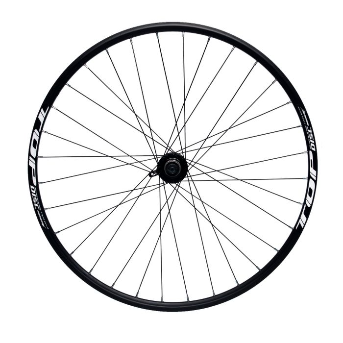 "REAR WHEEL REMERX TOP DISC 28""-29"" HUB JOYTECH MACHINE BEARING / 32-holes. Col. Black"