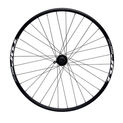 "REAR WHEEL REMERX TOP DISC 28""-29"" HUB JOYTECH MACHINE BEARING / 32-holes. Col. Black - Disc mounting :IS (6 screw) -Shimano"