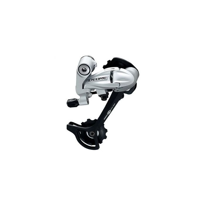 BACK  DERAILLEUR 9 RZ. TYP SGS TOP NORMAL-Silver colour