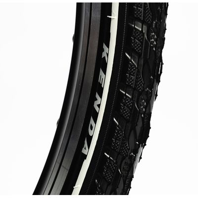 "TIRE  KENDA ""K-948"" 26x1.75 - WITH WHITE LINE"