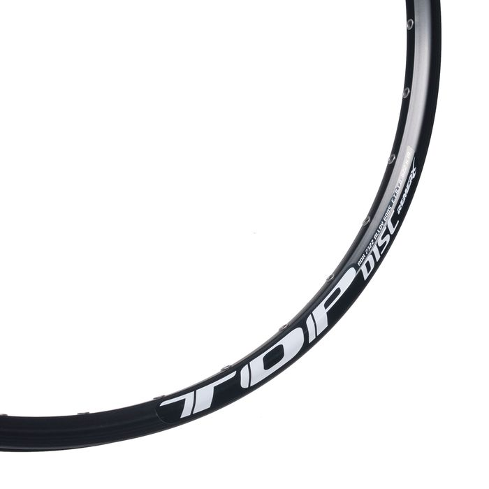 "RIM TOP DISC 28"" - 29"" (622x19) - 36 holes, Black colour, for DISC BRAKE"