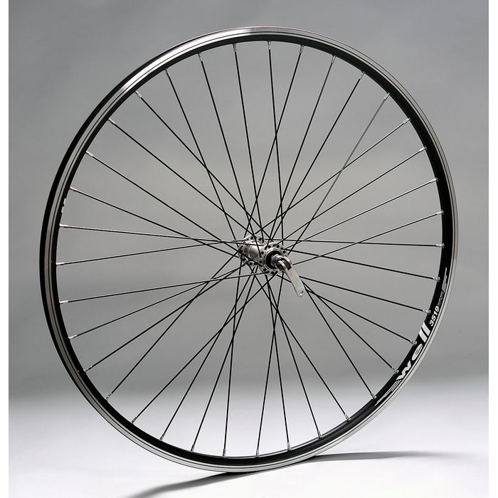 "WHEEL 28""P.FORMULA SILVER for clamp -O.WELL-BLACK FRONT"