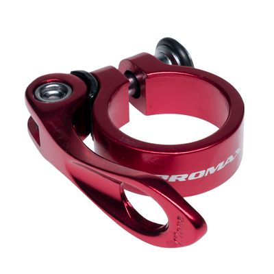 SEAT TUBE CLAMP  PROMAX -34,9 -Red - Red