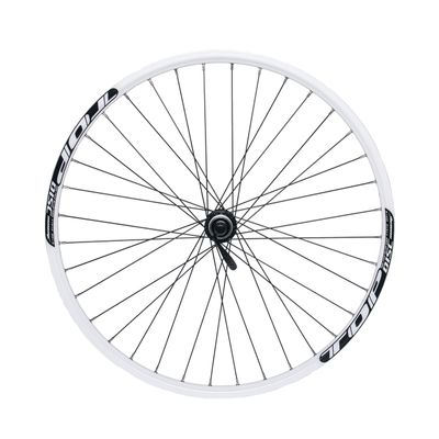 "FRONT WHEEL REMERX TOP DISC 26""  SHIMANO HUB  ACERA HB-RM66 / 36 holes White"