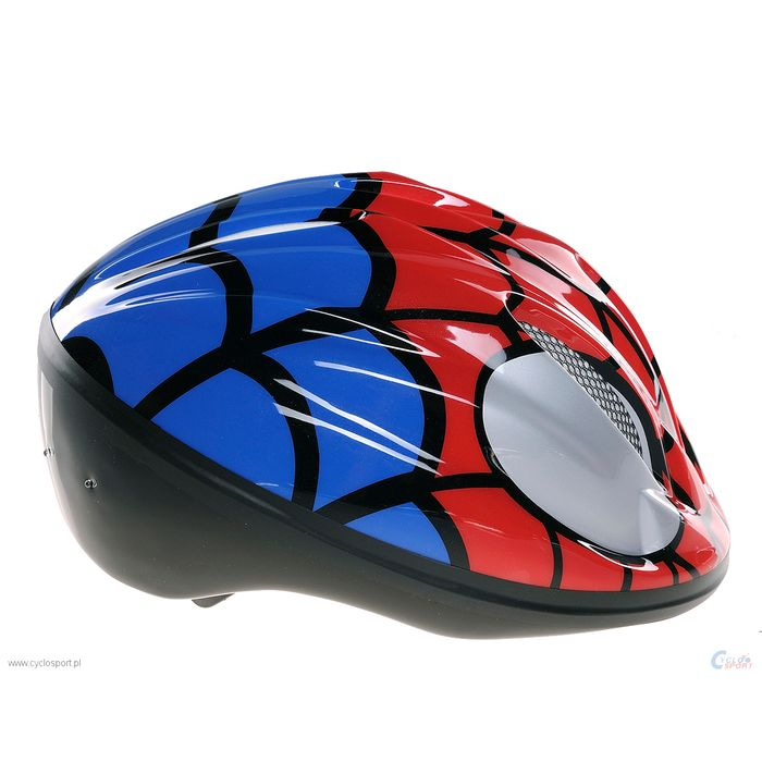 "CHILDREN"" S BICYCLE HELMET -SIZE :(50-56) /14- VENTILATION HOLES  WITH  A MESH  MODEL 'Spider-Man"""