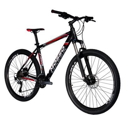 "BICYCLE MTB-27,5"" MOSSO-7506 SHIMANO ACERA300-3x9  - Frame Size: 19"""