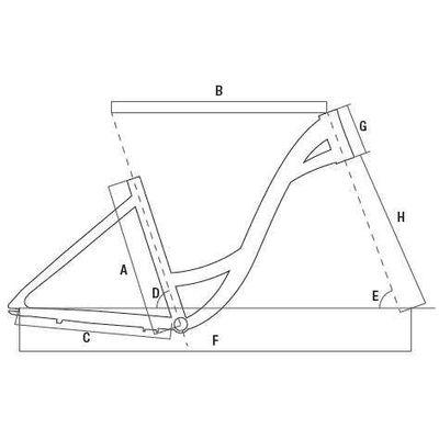"""Geometria RAMA TC ALUMINIOWA + WIDELEC ST. ROZMIAR 17"""" Kol. Czarny"""