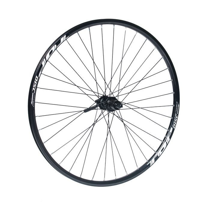 "REAR  WHELL  REMERX TOP DISC 27,5""/650B HUB  SHIMANO DEORE FH-M615  / 36-holes  Black colour"