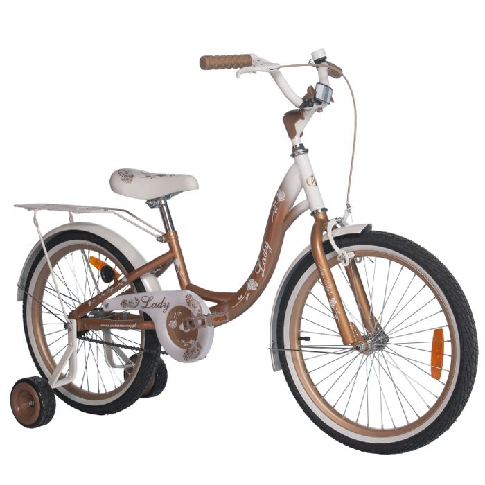 """CHILDREN'S BICYCLE 20"""" LADY GOLD"""