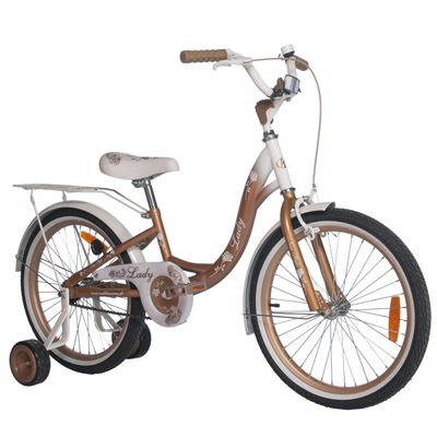 "CHILDREN'S BICYCLE 20"" LADY GOLD"
