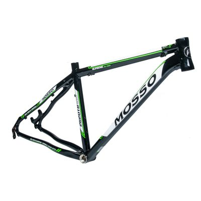 "FRAME MTB -26"" MOSSO MOD.2620TB 17"" (43cm)  Black / White / Green Line -  Black / White / Green Line"