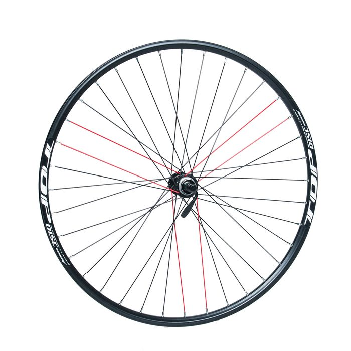 "FRONT WHEEL REMERX TOP DISC 28""-29"" PIASTA SHIMANO ACERA- HBRM66 (  Disc mounting :Center lock) 36-holes .Black colour"