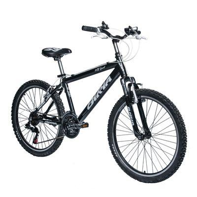"BICYCLE  BIRIA MTB SPORT 24"" SHIMANO TX-3x6 BLACK"