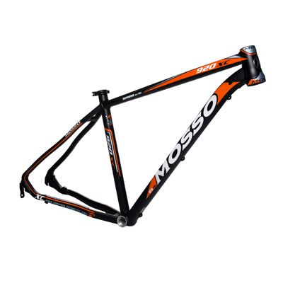 "FRAME MTB-29"" MOSSO MOD.920XC Col. Black Matt / Orange Matt - Frames Size: 19"" (48 cm)"