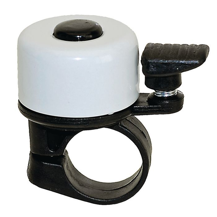 WHITE STEEL BELL / SMALL /