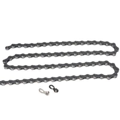 ŁAŃCUCH KMC X10 - 116 ogniw /  10- rzędowy +  spinka CL-559R  - Kol.Szary