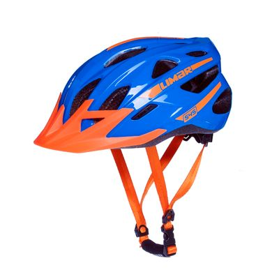 HELMET MTB LIMAR 545 Color: Blue/Orange   - Size: L ( 57-62) cm