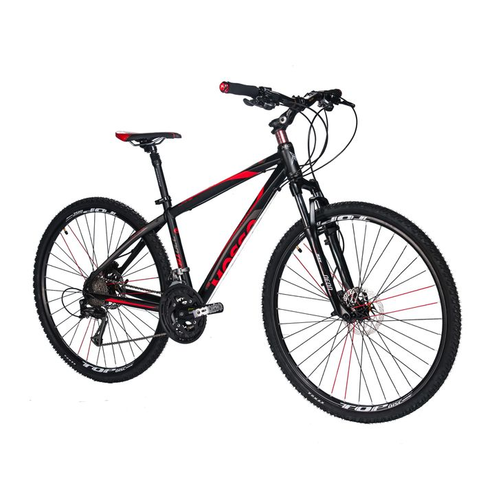 BICYCLE   CROSS MOSSO - 770TB3  SHIMANO ALIVIO 3x9  SUSPENSION FORK RST NEON RL