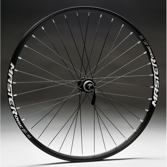 "WHEEL 26""P.DEORE-DISK-8/9/10BLACK  .M.DISC  -BLACK REAR"
