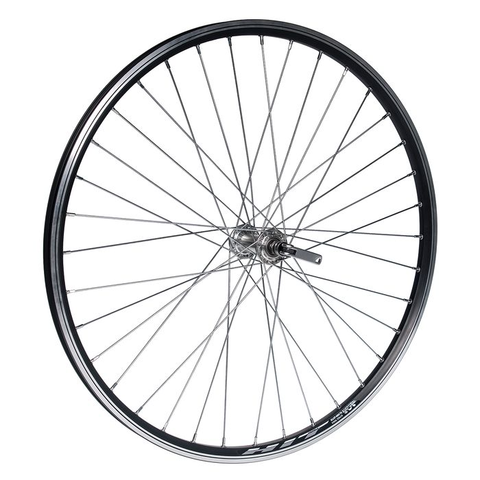 "WHEEL 26"" P.JOYTECH FOR CLAMP OB.HIT- BLACK FRONT"