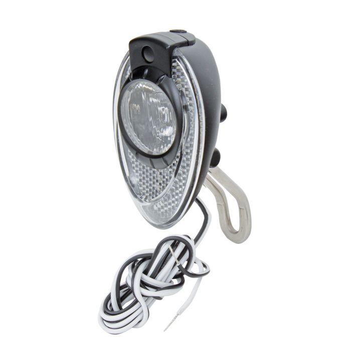 LAMPKA PRZEDNIA ANLUN- LED-6V/3W-DO DYNAMA-ON/OFF