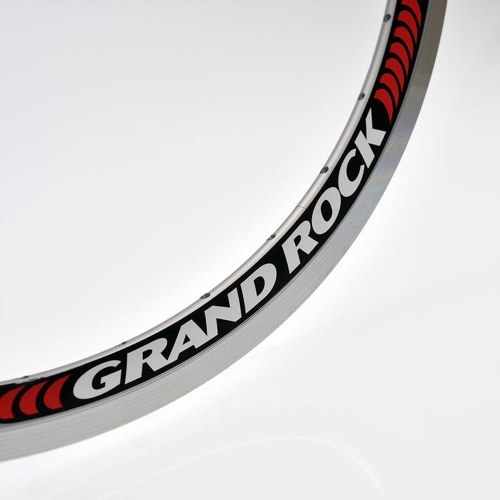 OBRĘCZ REMERX - GRAND ROCK 559 x 19 - 36-otw. -kol. Srebrny