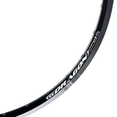 "RIM REMERX - DRAGON 719 - 26"" (559 x 19) - 36-holes , Black colour"