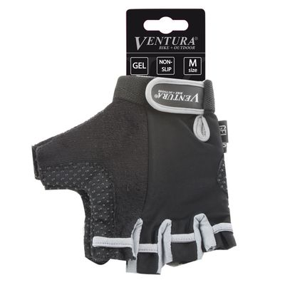 "BICYCLE GLOVES   ""VENTURA"" GEL - Gray"