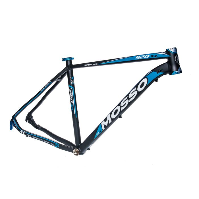 "FRAME  MTB-29"" MOSSO MOD.920XC 21"" (53cm) K  Matt Black  / Matt Blue / Matt White colour"