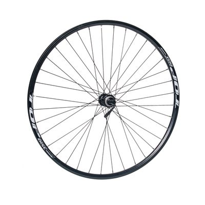 "FRONT WHEEL REMERX TOP DISC 28"" -29"" HUB SHIMANO HB-RM35 / 36-holes BLACK"