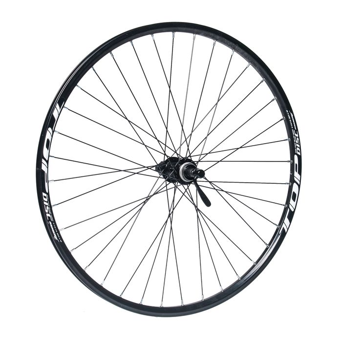 "REAR WHEEL  REMERX TOP DISC 27,5""/650B  HUB  SHIMANO ACERA FH-RM66 / 36 holes Black colour"