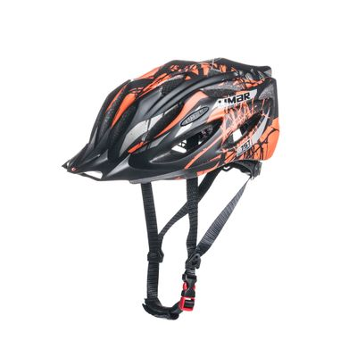 HELMET MTB LIMAR 757 SUPERLIGHT Color:Matt Black /Matt orange -  L ( 57-61) cm