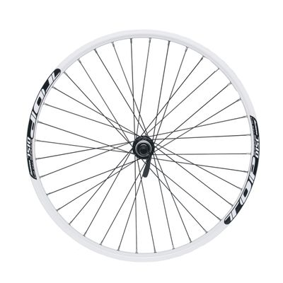 "REAR WHEEL REMERX TOP DISC 26""  SHIMANO HUB  ACERA FH-RM66 / 36 holes White"