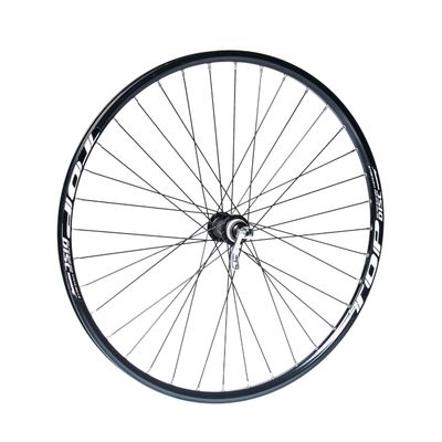 "FRONT WHEEL  REMERX TOP DISC 27,5""/650B HUB SHIMANO ALIVIO HB-M435 / 36-holes Black colour"