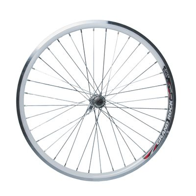"FRONT WHEEL  -26"" RIM  REMERX GRAND ROCK white  -HUB JOYTECH"