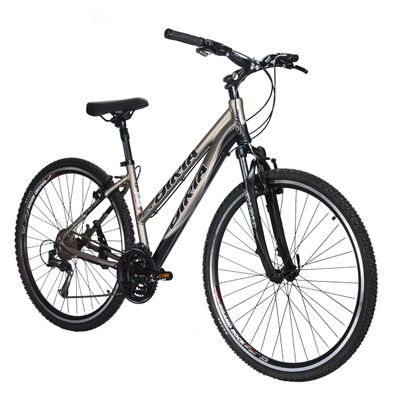 BICYCLE BIRIA CROSS - ACERA / ALIVIO 3 x 8  Matt Graphite / Matt Black