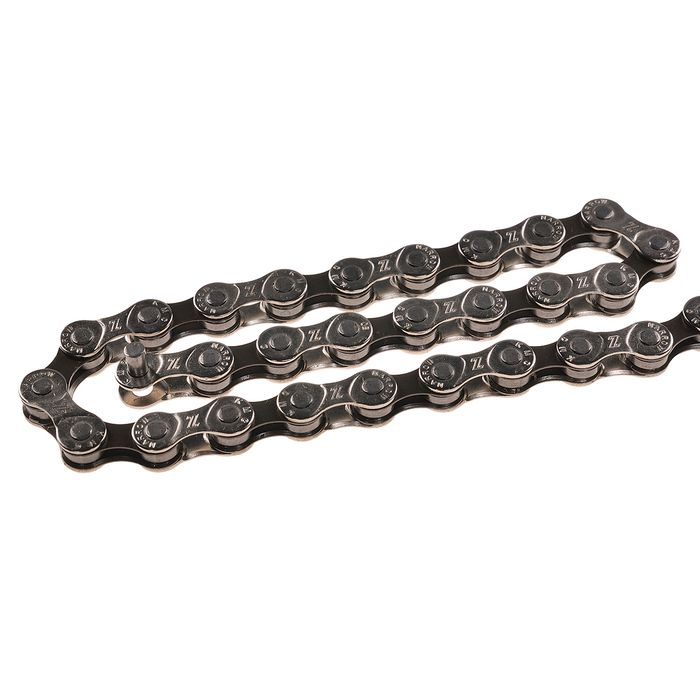 CHAIN  KMC Z 51 114 LINKS  7/8  SPEED  - Colour: Silver / Brown