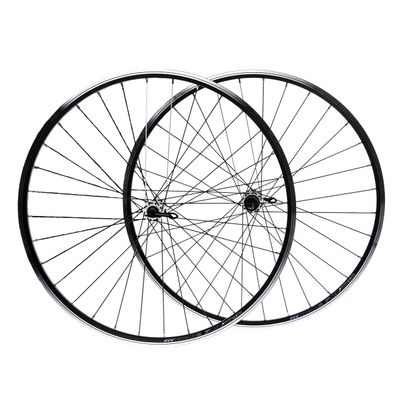 "WHEEL SET 28"" for Brake V-BRAKE. HUB NOVATEC OBRĘCZ REMEX DRAGON RMX L 719  ( white spokes  -2 )"