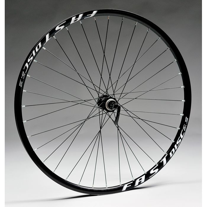 "WHEEL  28""P.DEORE-DISK 36-8/9/10-FAST DISC-BLACK BACK"