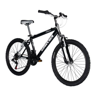 "BICYCLE  BIRIA MTB SPORT 24"" SHIMANO TX-3x6 BLACK"