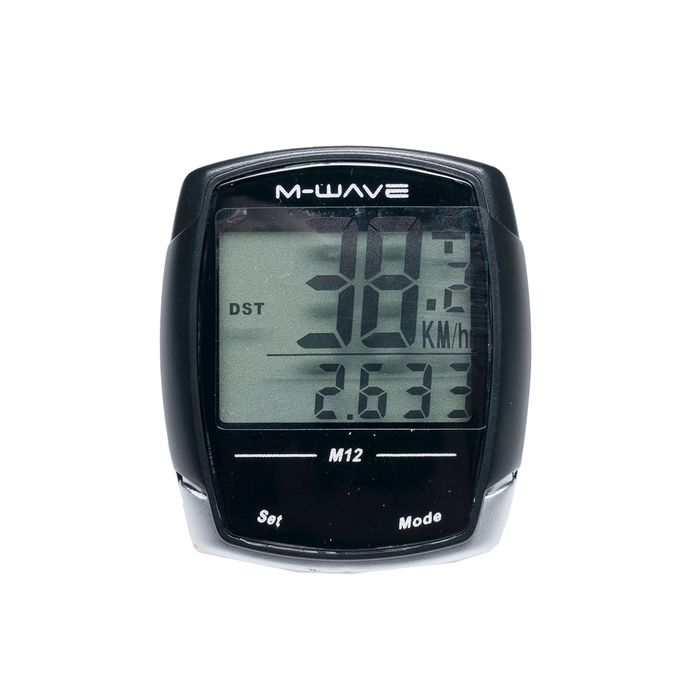 "BICYCLE COMPUTER  ""M-WAVE"" M12 12"