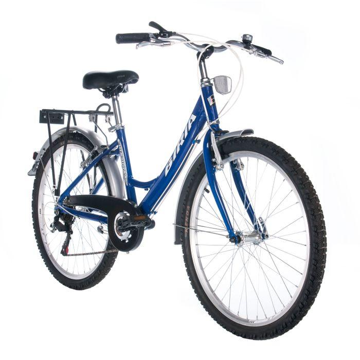 "BICYCLE BIRIA TC-24"" SHIMANO - 6 SPEEDS Blue"